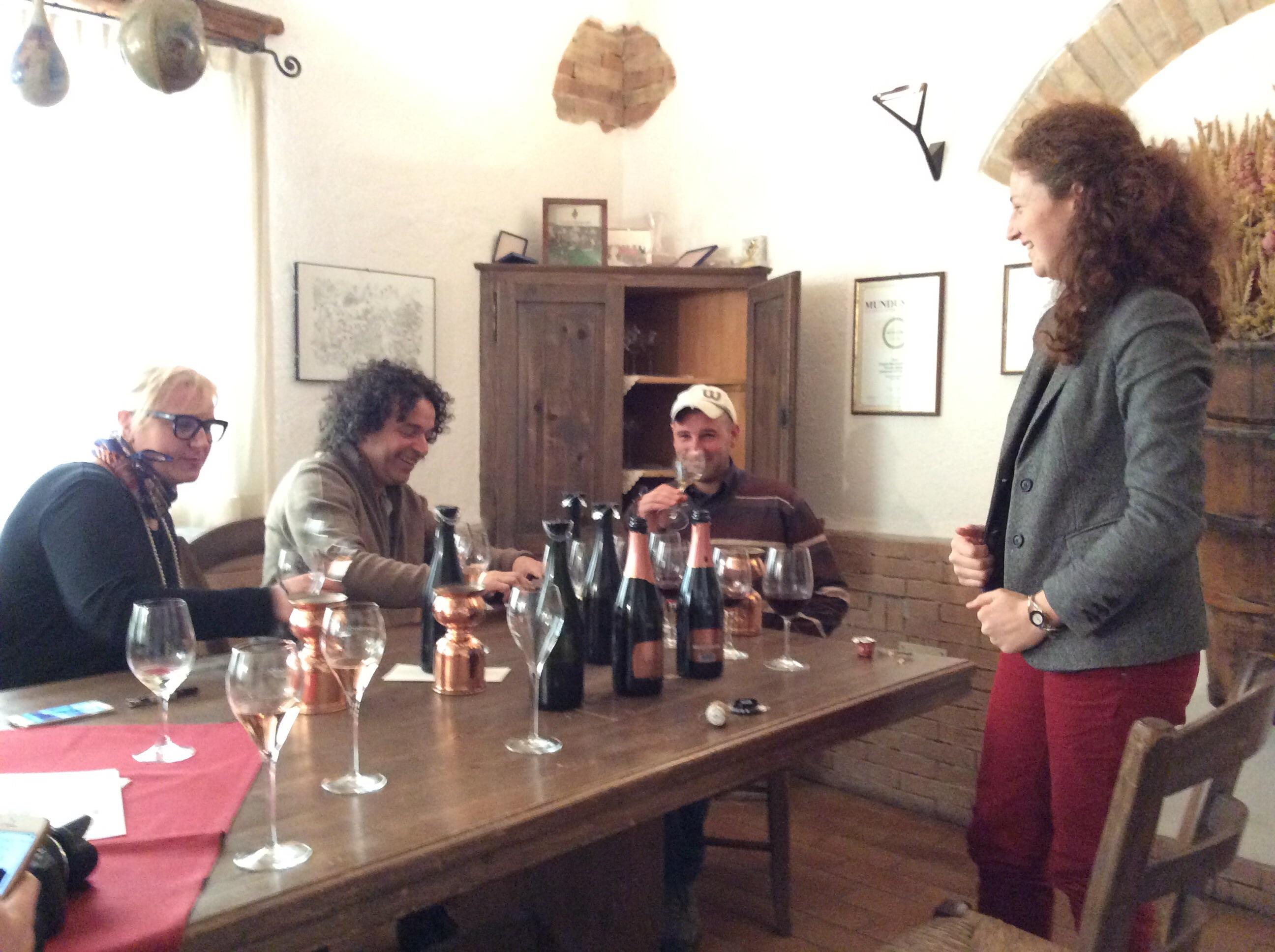 Trentodoc: assaggi a Casata Monfort