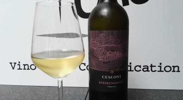 Gewürztraminer Cesconi in degustazione per VinoTube