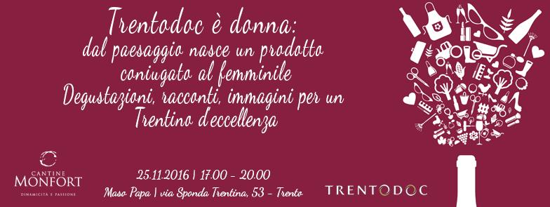Eventi Enogastronomici in Trentino TRENTODOC E' DONNA