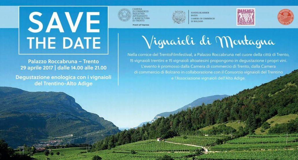 Vignaioli di montagna – Degustazioni Trentino Alto Adige
