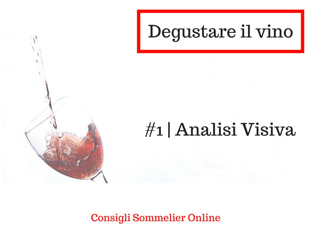 Come degustare il vino: ANALISI VISIVA 1/3 | Corso Sommelier Online