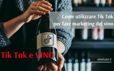 Tik Tok e VINO: Come utilizzare Tik Tok per fare marketing del vino